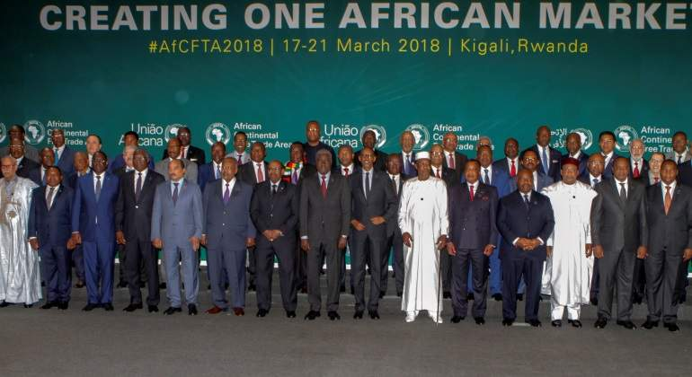 Países africanos pactan acuerdo de libre comercio