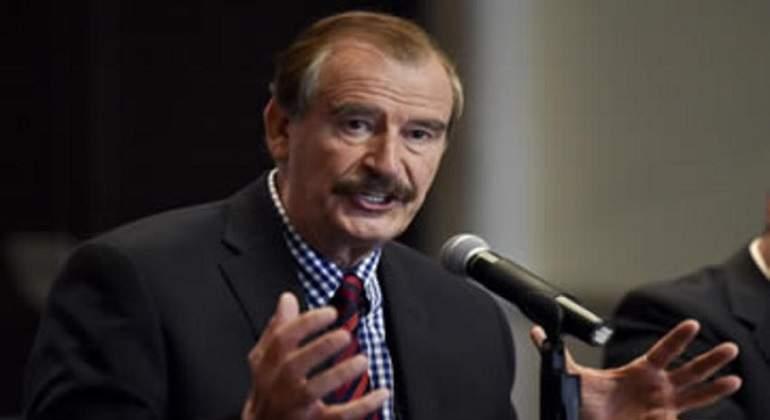 A puñetazos y palos, Vicente Fox 'tunde' a Trump