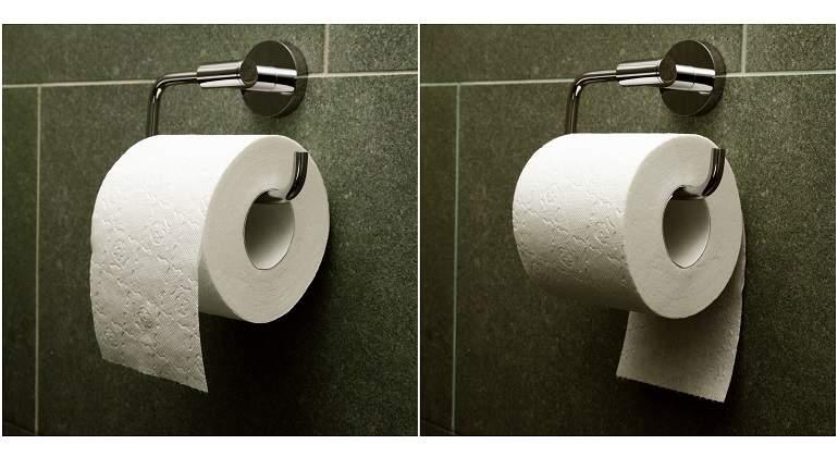 ¿Cuelgas bien el papel higiénico? Así es como se hace oficialmente