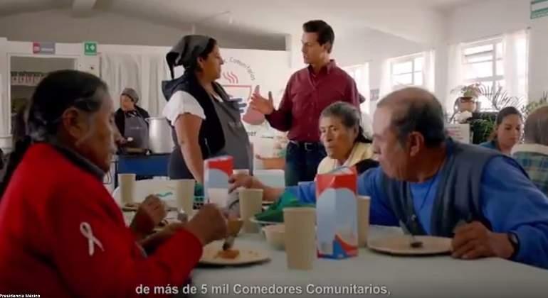 Peña Nieto asegura el fin de la pobreza extrema en México