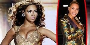Beyoncé: su vestido le deja el pecho al descubierto