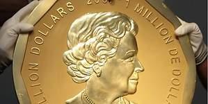 Roban la mayor moneda de oro: cuesta cuatro millones