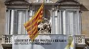 Torra mantiene el lazo amarillo en la Generalitat y pide sin éxito a la JEC cancelar el ultimátum
