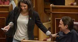 Pablo Iglesias e Irene Montero, pillados: su beso furtivo