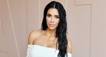La blusa de Kim Kardashian que deja poco a la imaginación