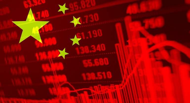 china bandera grafico