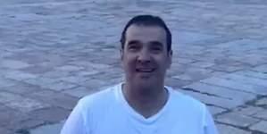 El actor Luis Merlo reaparece más gordo