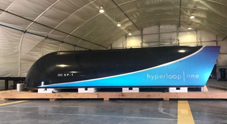 Hyperloop ya viaja a más de 300 kilómetros por hora