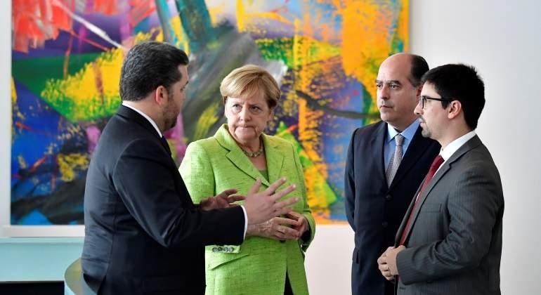 Rajoy sostiene reunión con Julio Borges y Freddy Guevara