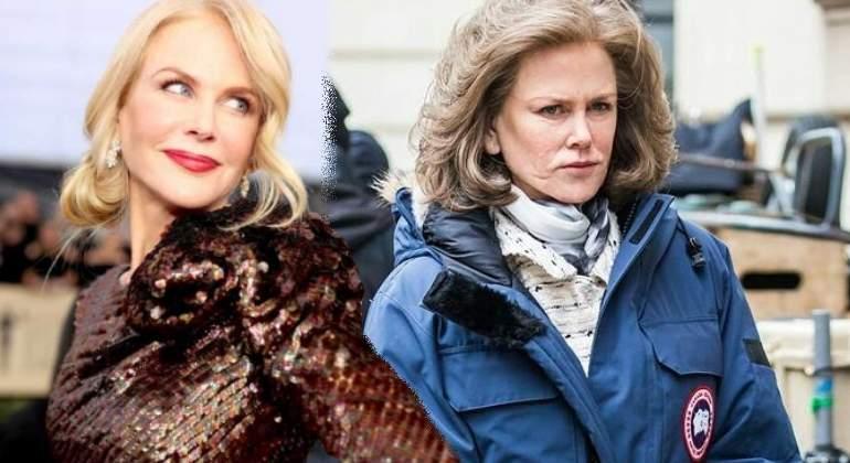 Nicole Kidman envejece en tiempo récord