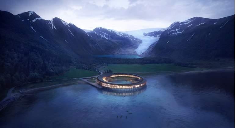 Svart, el primer hotel del mundo de energía positiva