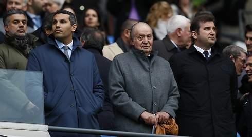El Rey Juan Carlos se va al fútbol... para ver el partido de Pep Guardiola en Inglaterra