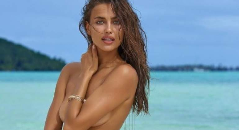 Irina Shayk presume su cuerpo post embarazo