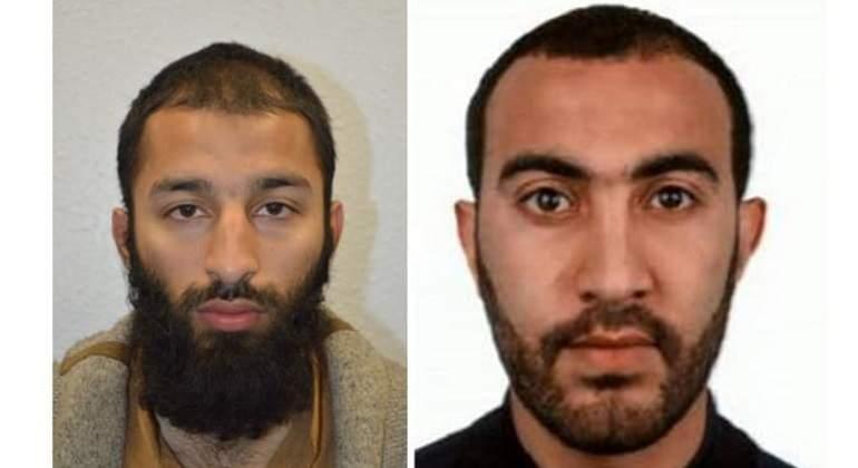 Identifican a dos de los tres terroristas de último atentado — Reino Unido