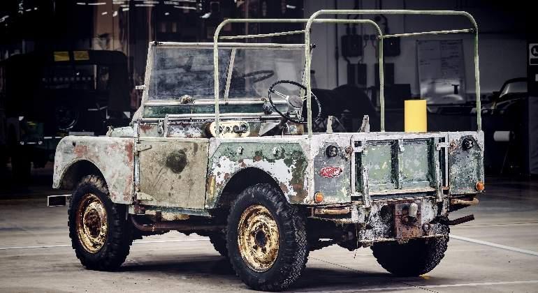 Land Rover encuentra el primer coche de su historia: llevaba desaparecido 63 años