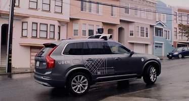 Los vehículos autónomos de Uber vuelven a funcionar en San Francisco