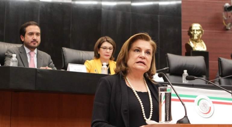 Ratifica el Senado nombramiento de Arely Gómez al frente de SFP