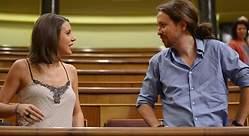 Increpan a Iglesias y Montero en una terraza de Madrid