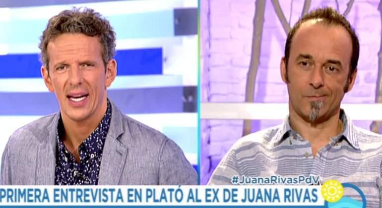 El ex de Juana Rivas pisa un plató de TV por primera vez con una entrevista en Tele 5
