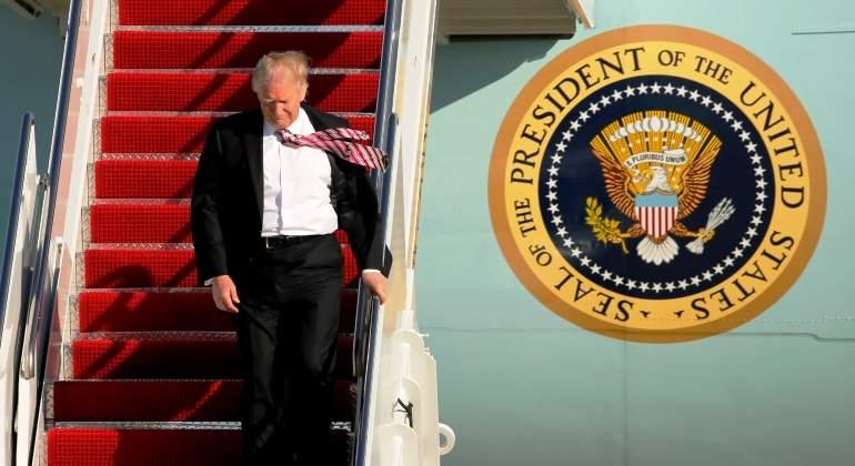 Donald Trump propuso privatizar el control del tráfico aéreo en EE.UU