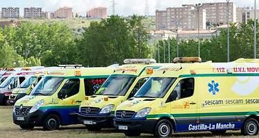 Sescam amplía al 24 enero el plazo para que las empresas presenten ofertas a la licitación del transporte sanitario