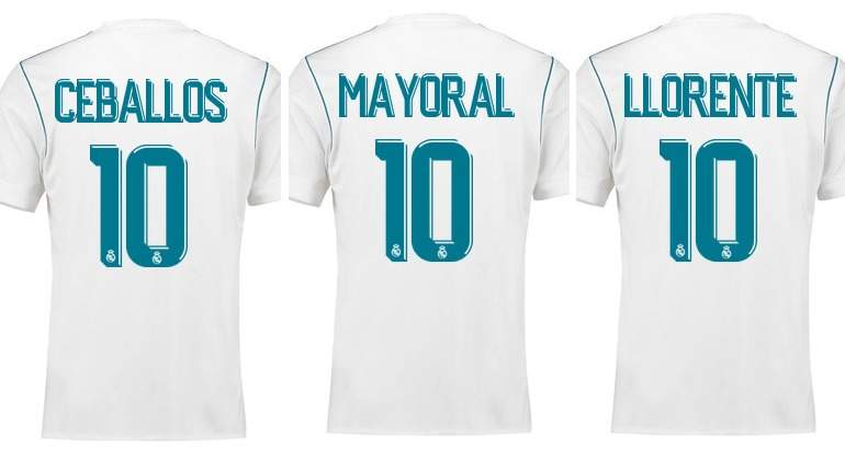 Camiseta Real Madrid D. Ceballos