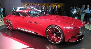 Mercedes-Maybach Vision 6: lujoso, enorme, potente y eléctrico