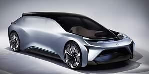 NIO Eve: el coche chino autónomo e inteligente que llegará a las carreteras en 2020