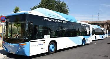 El transporte urbano por autobús cae en Castilla-La Mancha un 4% en noviembre con respecto a 2015