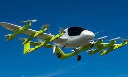 Prueban los taxis voladores