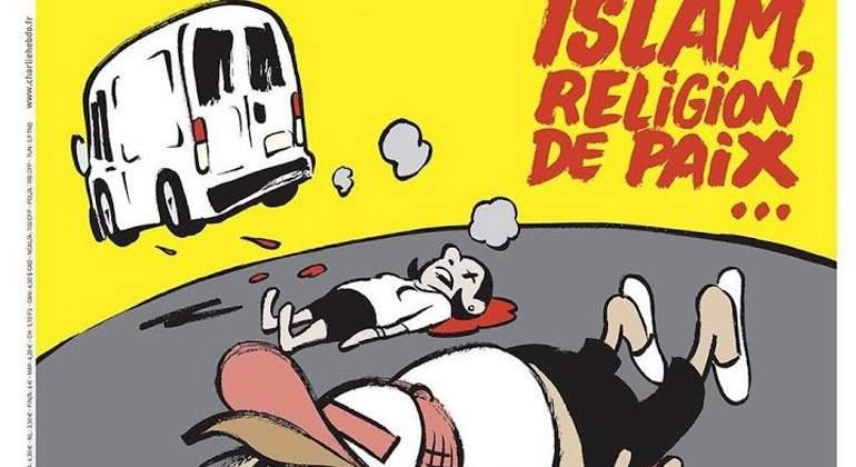 Charlie Hebdo vuelve a causar polémica por portada