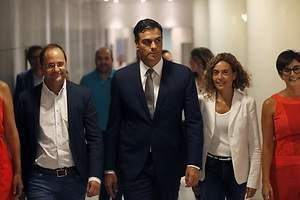 Brecha del PSOE en el Congreso