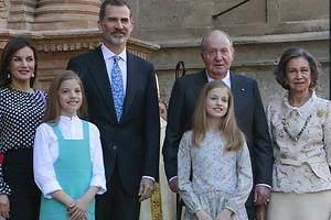 La Familia Real posa en Palma
