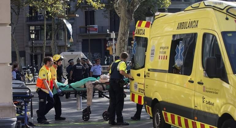 Un colombiano resultó herido en atentado terrorista en Barcelona, informó la Cancillería