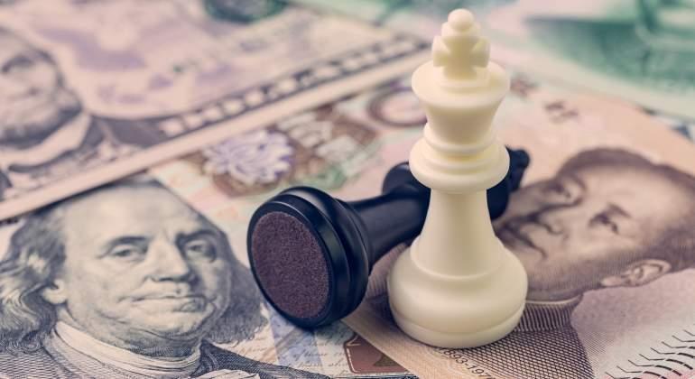 Guerra comercial, proteccionismo. El FMI retira su compromiso contra el proteccionismo tras las presiones de EEUU. Guerra-comercial-china-eeuu-dreamstime