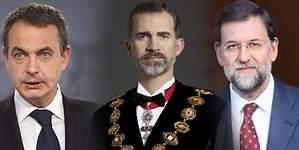 Telemadrid emite el documental La noche del Rey, con Mariano Rajoy y José Luis Rodríguez Zapatero