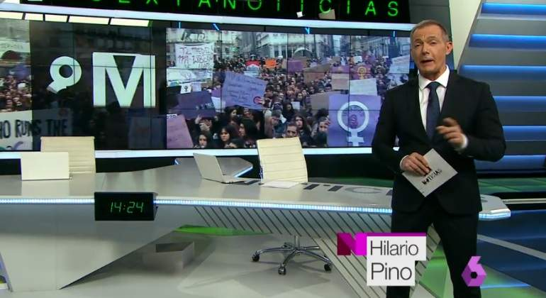 Hilario Pino, primer hombre al frente de La Sexta Noticias