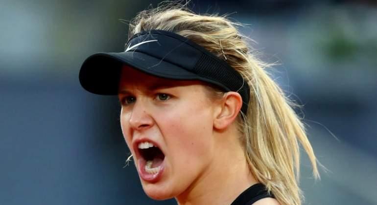 Bouchard no se intimida ante Sharapova