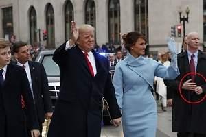 ¿Qué le pasa al escolta de Trump?