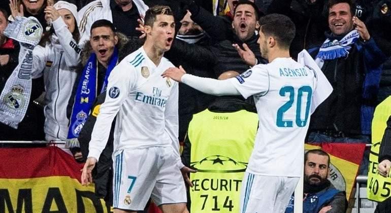 CR7-Asensio-celebran-2018-Champions-reuters.jpg