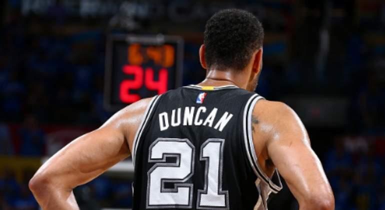 NBA: Los San Antonio Spurs retirarán el número '21' de Tim Duncan
