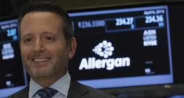 El CEO de Allergan insta a Trump a que actúe para limitar los precios del sector farmacéutico