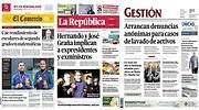 Revista de prensa del Per