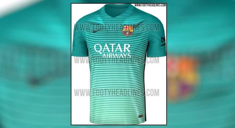 Desvelan cómo será la tercera equipación del Barça para la temporada ... 518c75b208a53