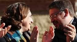 Iglesias y Colau descartan pactos con JxCat y Cs