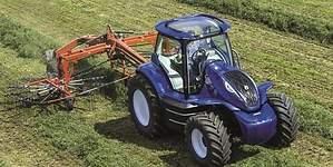 New Holland presenta el futuro de la agricultura: tractores impulsados con residuos