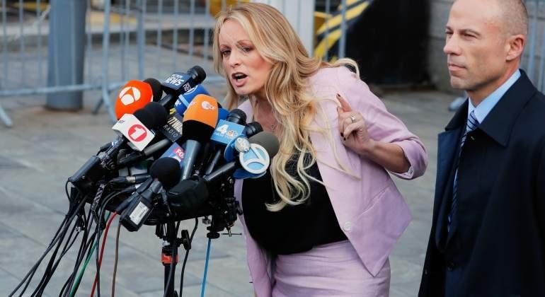 Actriz interpone nueva demanda contra Trump