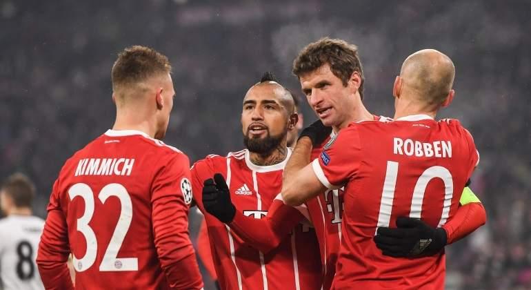 El Bayern compra el billete a cuartos