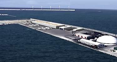 Haizea Wind creará 300 empleos con una fábrica de torres eólicas marinas en el Puerto de Bilbao