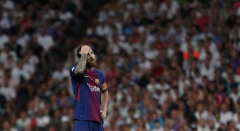 La noche que Leo Messi rozó la vulgaridad en el Bernabéu